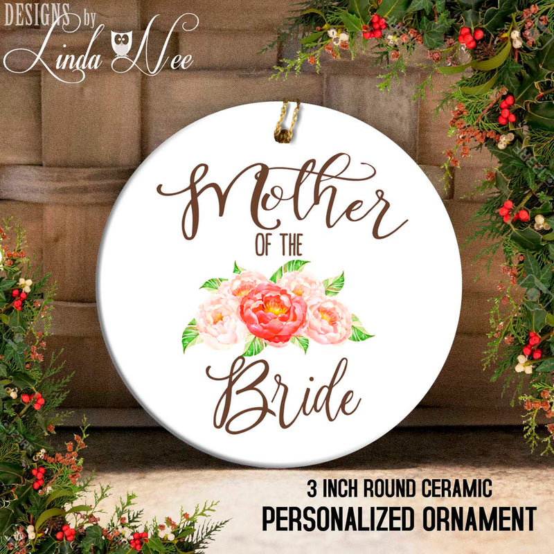 Mother of the Bride Floral Ornament