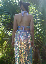 Periwinkle Prism Dragon Harness Halter Top | MTO
