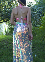Mermaid Tears Sequin Maxi Skirt | MTO