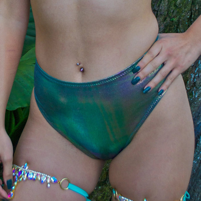 Jade Siren Scrunch Bottoms | MTO