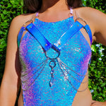 Blue Opal Crystal Harness | MTO