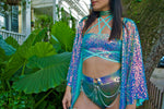 Jade Opal Crystal O-Ring Belt | MTO