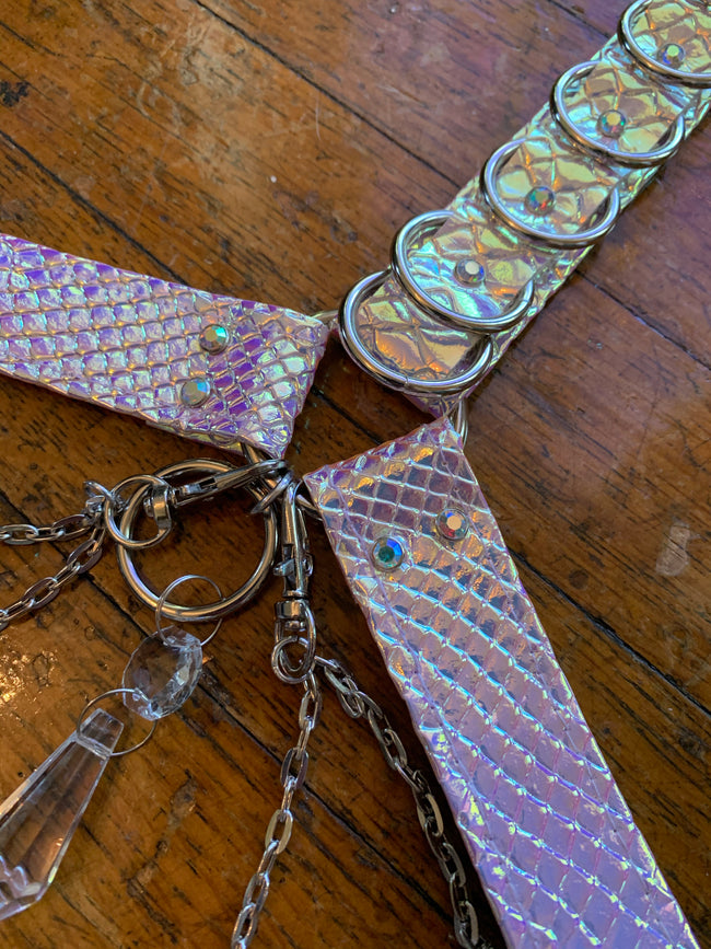 Unicorn Opal Bombshell Convertible Harness Set