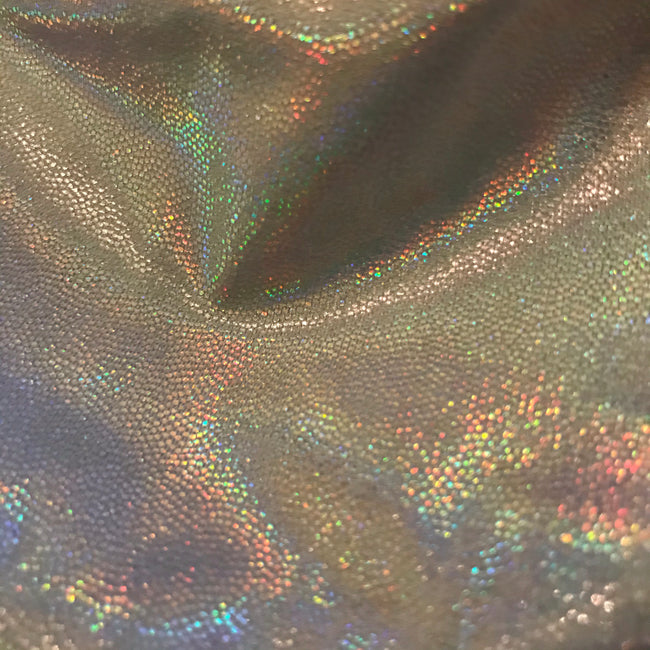 Silver Holographic Bottoms - M/L