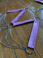 Bubblegum Cobra Crystal Harness Set - MTO