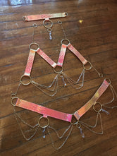 Sunset Opal Crystal Harness Set | MTO