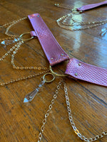 Rose Gold Crystal Harness Set - MTO