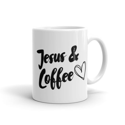 Jesus & Coffee Mug