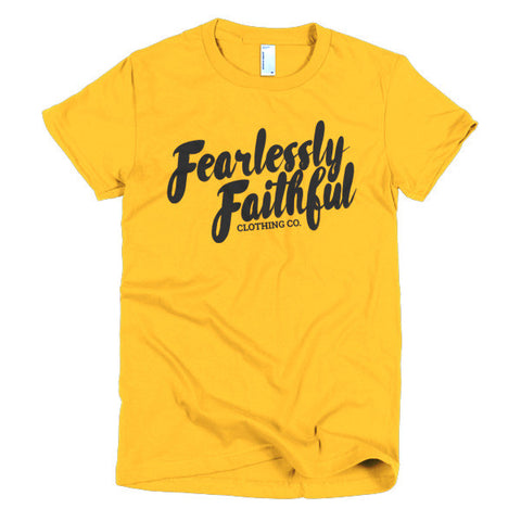 Fearlessly Faithful Fitted Tee