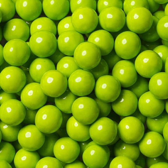 Sixlets Lime Green -1 Lbs