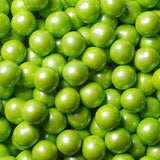 Sixlets Shimmer Lime Green -1 Lbs