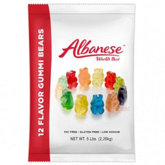 12 Flavor Gummy Bears - 5lb bag - Your Candy Shop - Bulk Candy Store