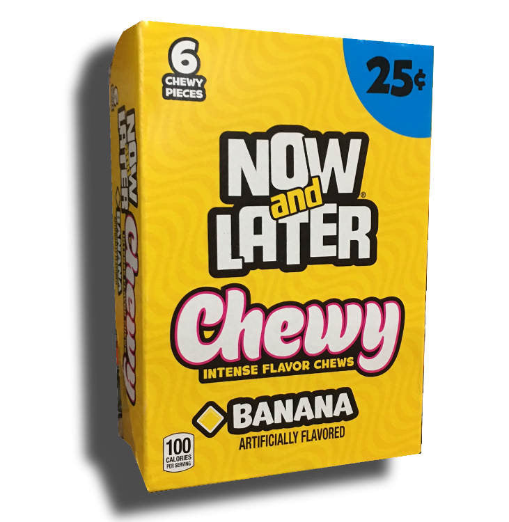 Now and Later Chewy Banana