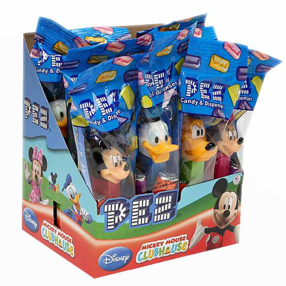 PEZ Mickey and Friends 12Ct PEZ Assorted Dispensers