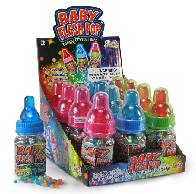 Baby Bottle Flash Pop 12ct Box