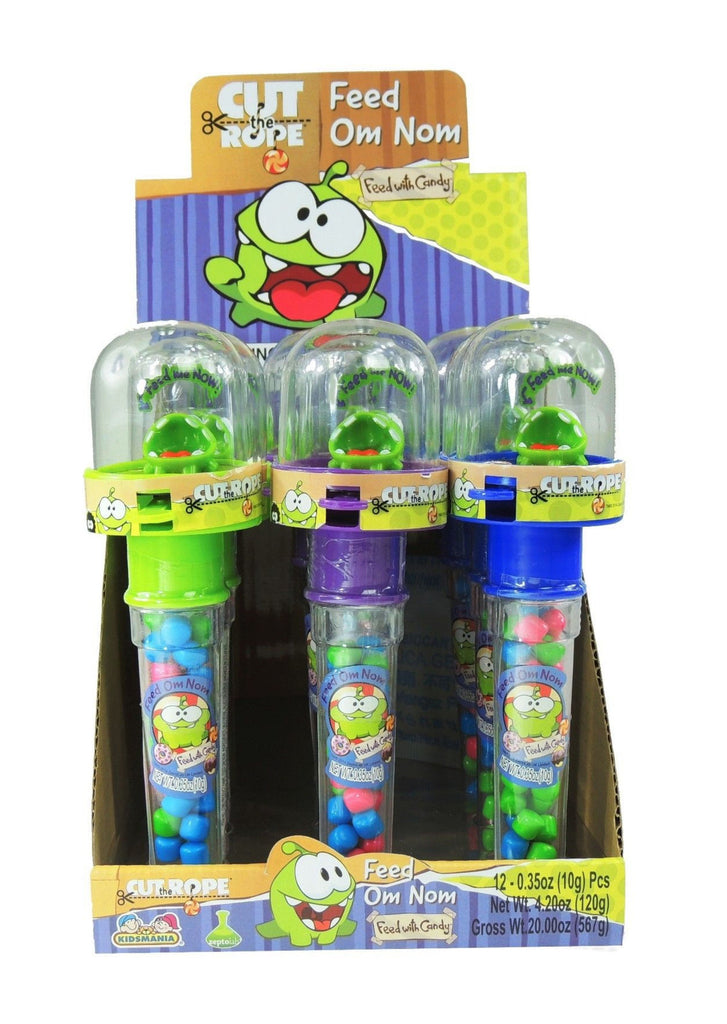 Cut The Rope Candy Feed OM Nom 12CT Box 12 .35oz Games