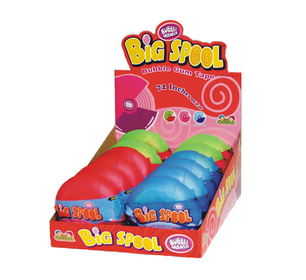 Big Spool Bubble Gum 6 feet of Gum 12Ct