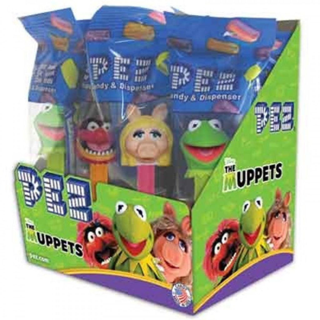 PEZ Mupperts 12Ct PEZ Assorted Dispensers