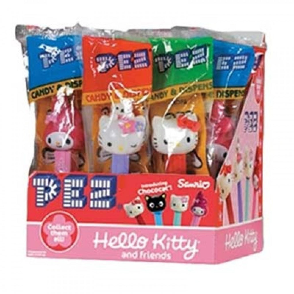PEZ Hello Kitty 12Ct PEZ Assorted Dispensers