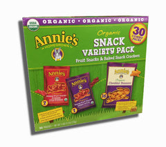 Annie's Organic Fruit and Baked Cheddar Snacks 30ct box - Your Candy Shop - Bulk Candy Store