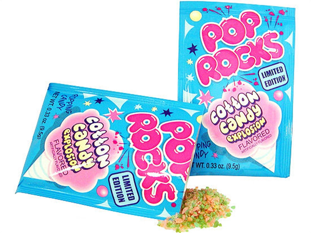 Pop Rocks Cotton Candy 24Ct Box