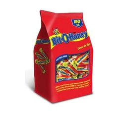 Bit O Honey Stand Up Bag 190ct - Your Candy Shop - Bulk Candy Store