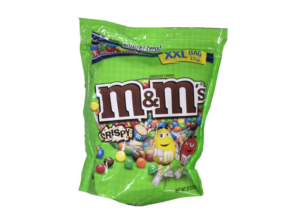 Crispy M&M's 37 oz Bag - Your Candy Shop - Bulk Candy Store