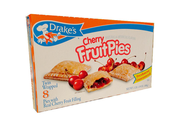 Drake's Cherry Fruit Pies - Your Candy Shop - Bulk Candy Store