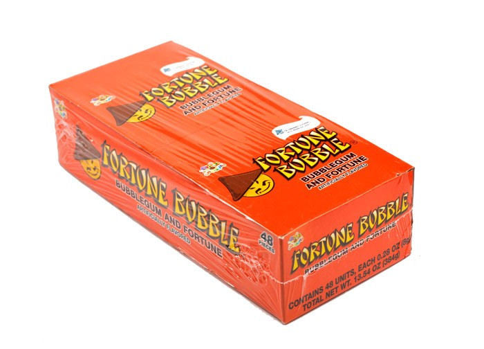 Fortune Bubble Gum 48Ct Box - Your Candy Shop - Bulk Candy Store
