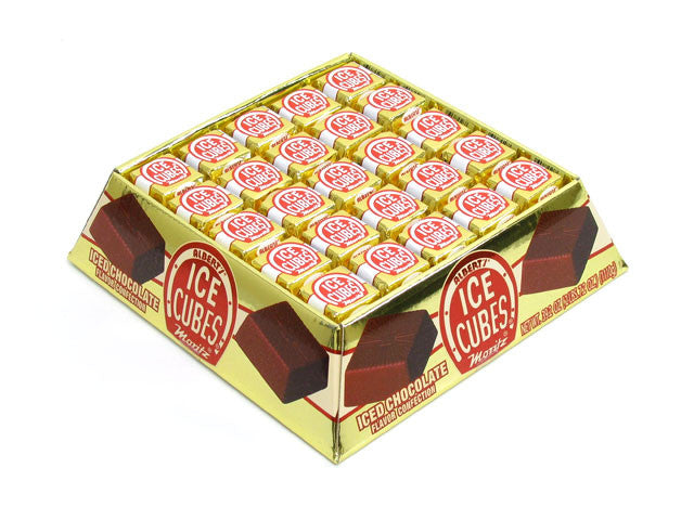 Albert's Chocolate Ice Cubes 100 Count Tray - Your Candy Shop - Bulk Candy Store