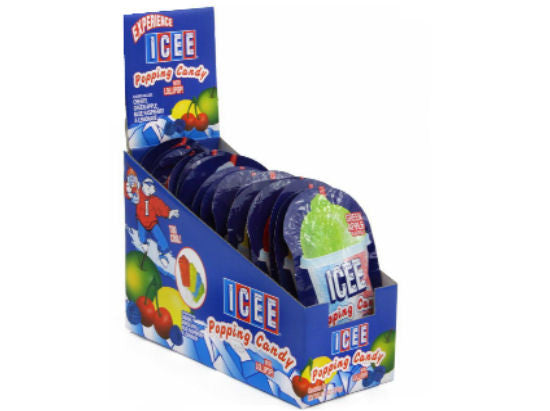 Icee Popping Candy 18Ct Box with .53oz Packets