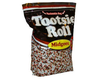 Tootsie Roll Midgees - 5lb bag