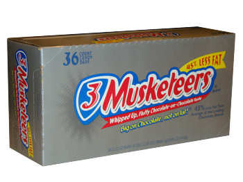3 Musketeers Chocolate Bars