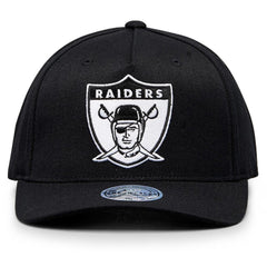 MITCHELL & NESS - 110 NFL Black & White Throwback - Las Vegas Raiders