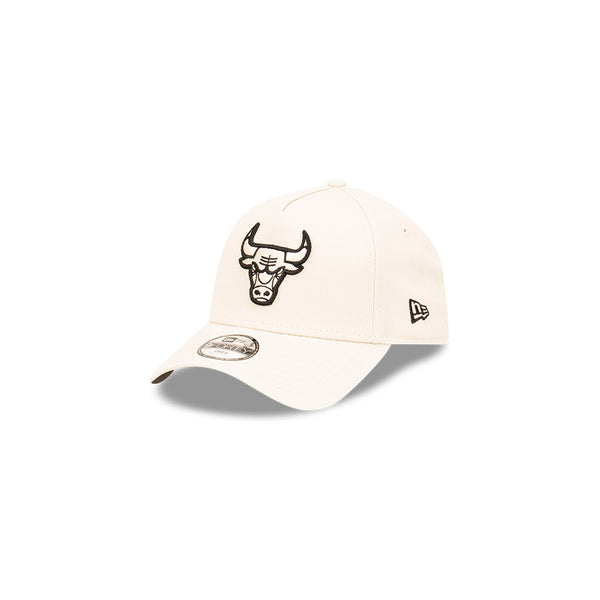 NEW ERA 9FORTY A-FRAME (Youth) - Stone and Black - Chicago Bulls