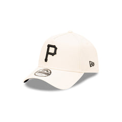 NEW ERA 9FORTY A-FRAME - Stone and Black - Pittsburgh Pirates