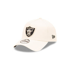 NEW ERA 9FORTY A-FRAME - Stone and Black - Las Vegas Raiders
