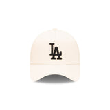 NEW ERA 9FORTY A-FRAME - Stone and Black - Los Angeles Dodgers