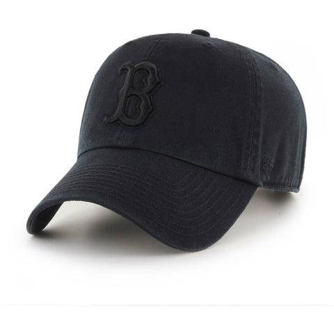'47 Brand - CLEAN UP - Boston Red Sox Black/Black