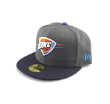New Era 59Fifty - Graphite - Oklahoma City Thunder