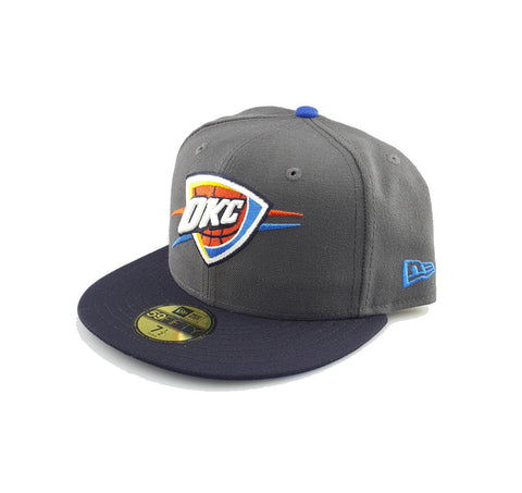 New Era 59Fifty Fitted - Oklahoma City Thunder Graphite