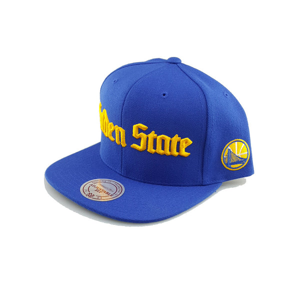 Mitchell & Ness - Gothic Script - Golden State Warriors