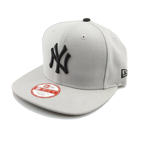 New Era 9Fifty - League Basic - New York Yankees (Grey/Black)