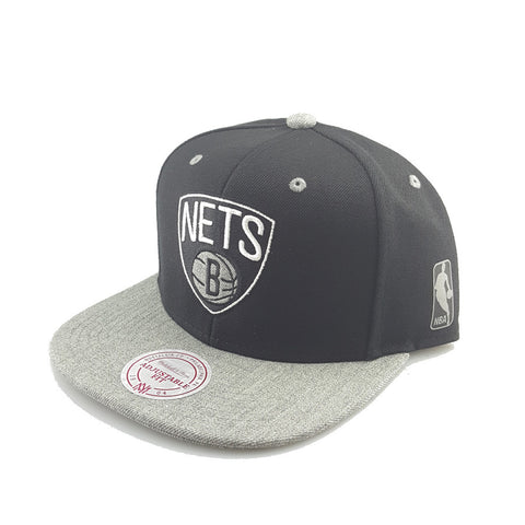 Mitchell & Ness - Greytist Snapback- Brooklyn Nets
