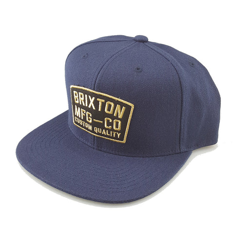 Brixton - National Snapback - Navy