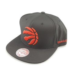 Mitchell & Ness - Black Ripstop Honeycomb - Toronto Raptors - Cap City