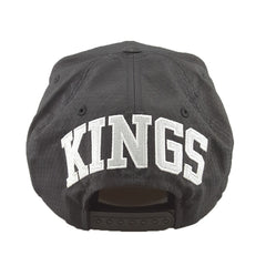 Mitchell & Ness - Black Ripstop Honeycomb - Los Angeles Kings