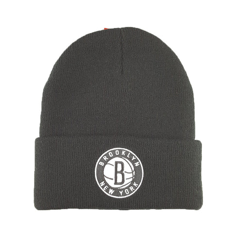 Mitchell & Ness - Core Team Logo Cuff Knit - Brooklyn Nets