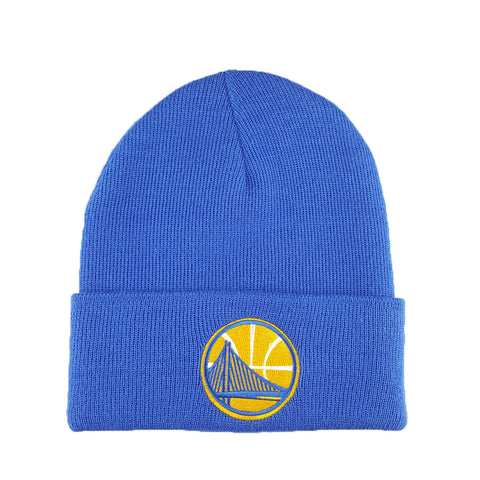Mitchell & Ness - Core Team Logo Cuff Knit - Golden State Warriors