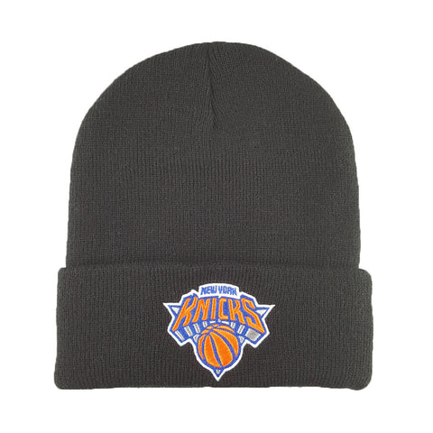 Mitchell & Ness - Core Team Logo Cuff Knit - New York Knicks